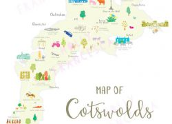 Cotswolds map from truceonline 7