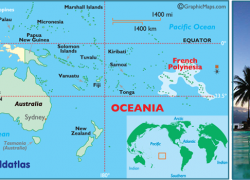 French polynesia map from worldatlas 4