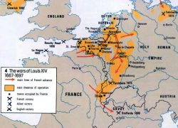French revolution map from alphahistory 10