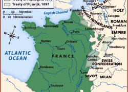 French revolution map from alphahistory 3