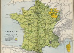 French revolution map from alphahistory 7