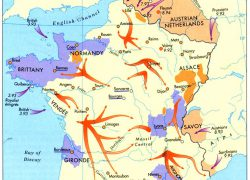 French revolution map from ar 4