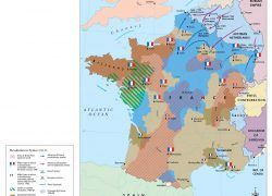French revolution map from themaparchive 5