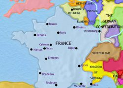 French revolution map from timemaps 8