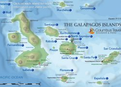 Galapagos Islands Map: Galapagos islands map from galapagosisland 1