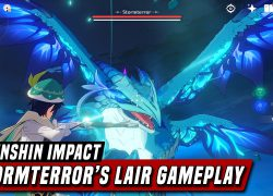 Genshin impact stormterror lair map from youtube 6