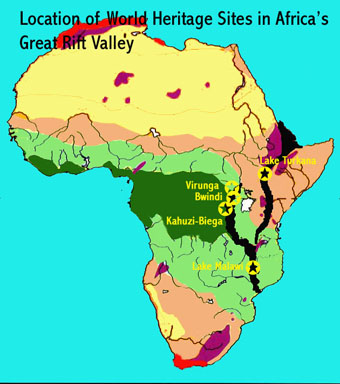 Great Rift Valley Map