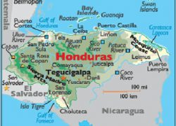 Gulf of honduras map from placeandthings 2