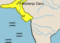 Harappa And Mohenjo-daro Map: Harappa and mohenjo daro map from pinterest 1