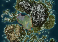 Just Cause 2 Map: Just cause 2 map from reddit 3