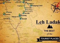 Leh map from traveltriangle 6