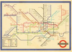 London Underground Map 2020: London underground map 2020 from londonist 1