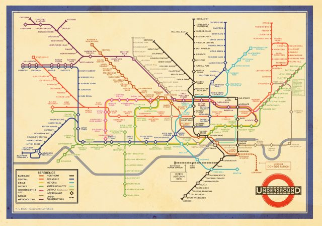 London underground map 2020 from londonist 1