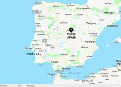 Madrid Map: Madrid map from whereig 1