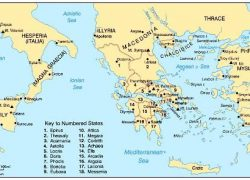 Map Of Ancient Greece City States: Map of ancient greece city states from pinterest 1