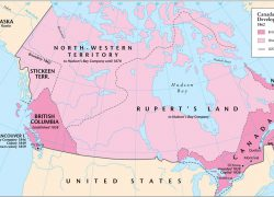 Map Of Canada In 1862: Map of canada in 1862 from themaparchive 1