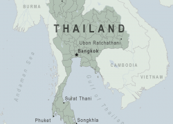 Map Of Thailand: Map of thailand from wwwnc 1