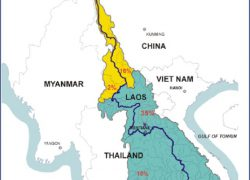 Mekong river map from researchgate 2