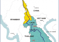 Mekong river map from researchgate 9