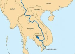 Mekong river map from rfa 8