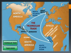 Middle Passage Map