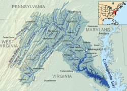 Potomac river map from americanrivers 7