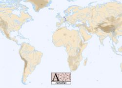 Rhine River On World Map: Rhine river on world map from euratlas 1
