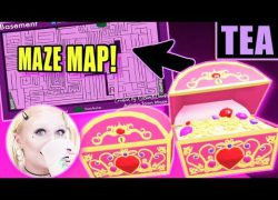 Royale high halloween 2020 maze map from youtube 7