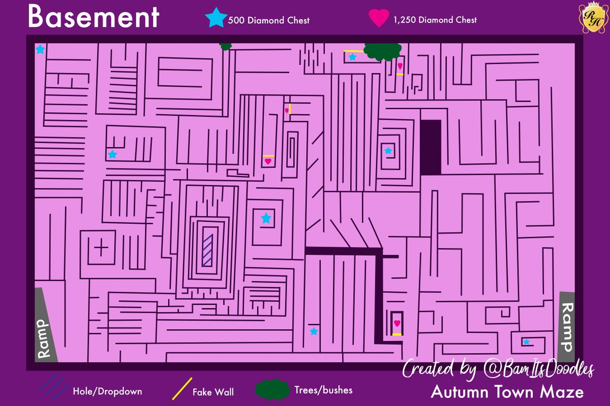 Royale High Maze Map First Floor From Twitter 4
