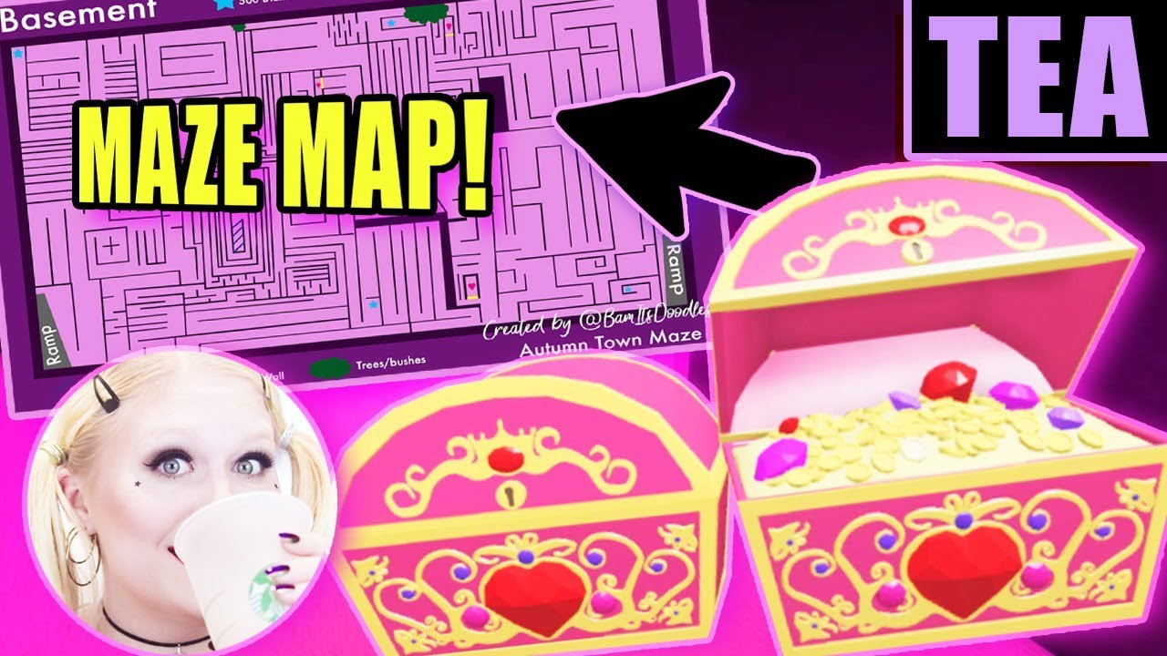 Royale High Maze Map First Floor From Youtube 5