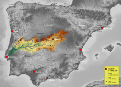 Tagus river map from en 7