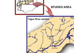 Tagus river map from researchgate 8