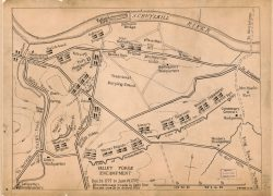 Valley Forge Map: Valley forge map from loc 2