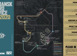 Verdansk subway map from gamewith 5