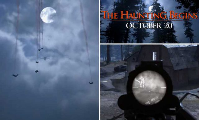 Warzone halloween map from efogator 1