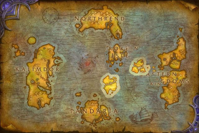 Wow Map