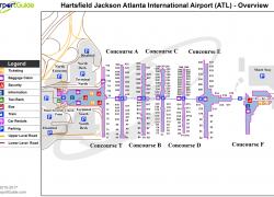 Atlanta Airport Map: Atlanta airport map from pinterest 1