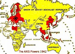 Axis powers ww2 map from pinterest 6