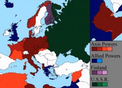 Axis powers ww2 map from themindcircle 5
