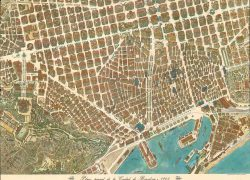Barcelona map from geographicus 4