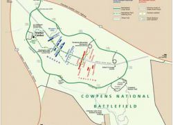 Battle of cowpens map from nps 10