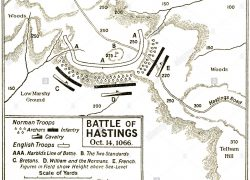Battle of hastings map from alamy 4