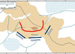 Battle of hastings map from emersonkent 6