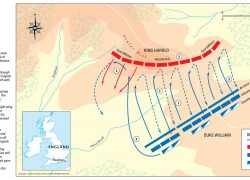 Battle of hastings map from themaparchive 2