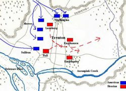 Battle of trenton map from americanmilitaryhistorypodcast 9