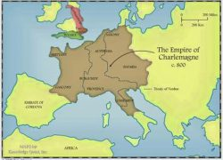 Charlemagne empire map from adoroergosum 10