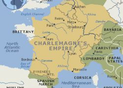 Charlemagne empire map from pinterest 2