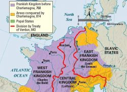 Charlemagne empire map from pinterest 9
