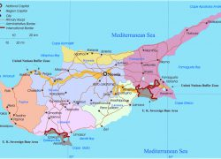 Cyprus map from geographicguide 8