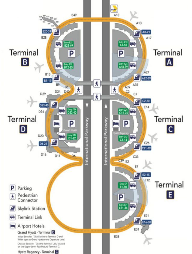 Dfw airport map from upgradedpoints 1
